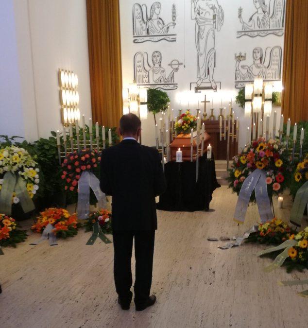 Begräbnis von Erhard Berg